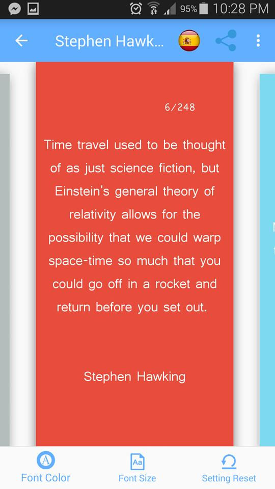 "Stephen Hawking Quotes ""R.I.P"" English/Spanish for Android - APK Download"