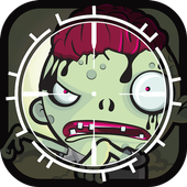 Zombie Target Shooting for Kid icon