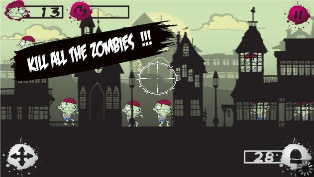 Zombie Target Shooting for Kid apk screenshot