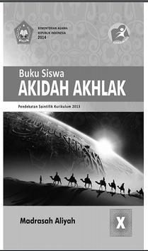 Buku Akidah Akhlak Kelas 10 Kurikulum 2013 poster