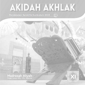 Buku Akidah Akhlak Kelas 11 Kurikulum 2013 icon