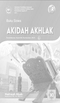 Buku Akidah Akhlak Kelas 11 Kurikulum 2013 poster