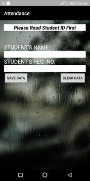 Mobile Phone Student's Attendance screenshot 2