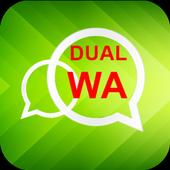 Dual Account For WhatsApp icon