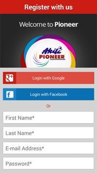 Akila Pioneer apk screenshot