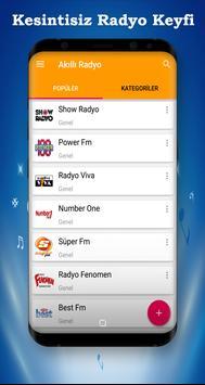 Akıllı Radyo - Radyo Dinle screenshot 3
