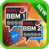 Dual Multi BBM PIN Android icon