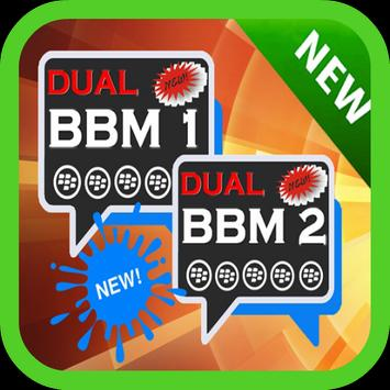 Dual Multi BBM PIN Android poster