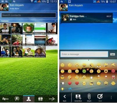 Dual Multi BBM PIN Android apk screenshot