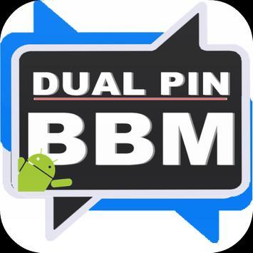 PIN Dual BBM poster