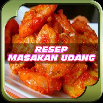 Resep Masakan Udang Terbaru poster