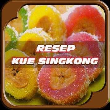 Resep Kue Dari Singkong poster
