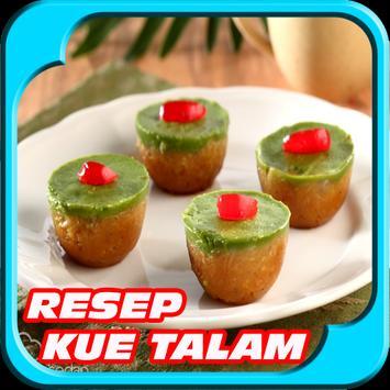 Resep Kue Talam Terbaru poster