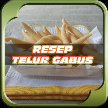 Resep Kue Telur Gabus Keju poster