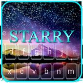 Starry Galaxy Keyboard Themes icon