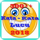 300++ Kata Kata Lucu 2018 icon