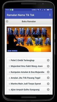 Ramalan Nama Tik Top screenshot 2
