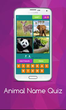 Name The Animal App poster