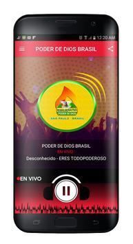 RADIO PODER DE DIOS BRASIL screenshot 1