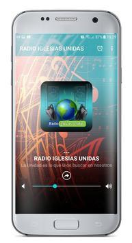 RADIO IGLESIAS UNIDAS poster