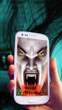 Ghost Fake Incoming Call poster