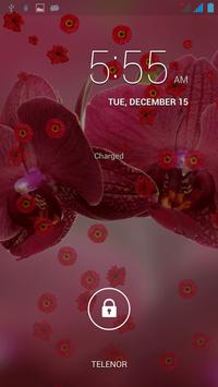 Red Flowers Wallpaper Live apk screenshot
