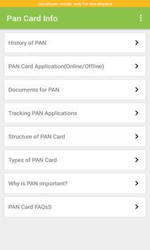 Pan Card Info poster