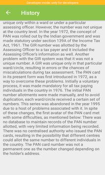 Pan Card Info screenshot 2