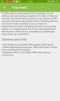 Pan Card Info screenshot 3