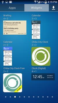 Chiba City Clock Free poster