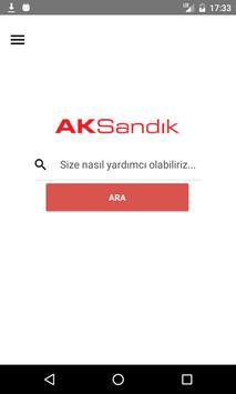 AKSandık Bizimle poster