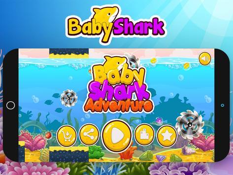 Baby Shark Run Adventure Game screenshot 14