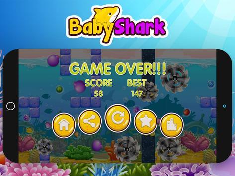 Baby Shark Run Adventure Game screenshot 4