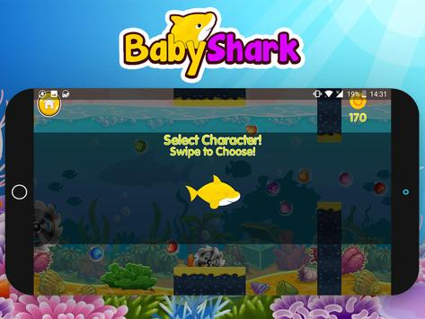 Baby Shark Run Adventure Game screenshot 5