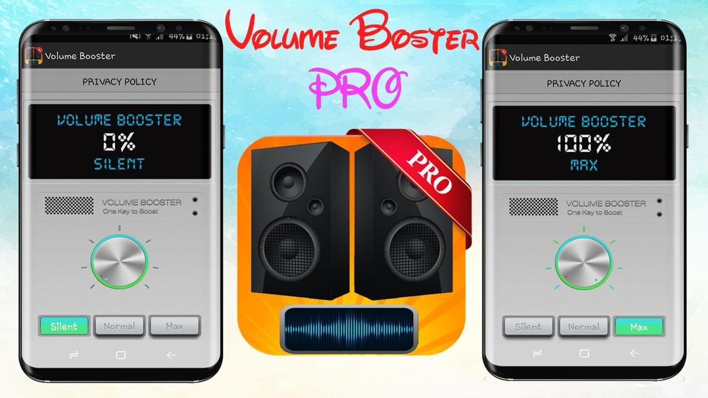 Volume Booster Pro Descarga APK - Gratis Herramientas ...