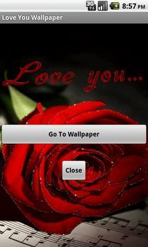 Love You Wallpaper poster