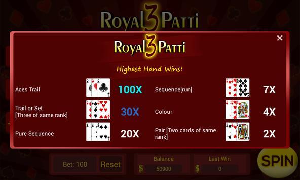 Royal Teen Patti Slot screenshot 2