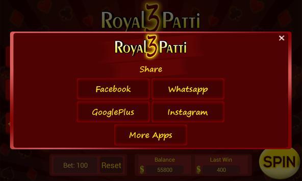 Royal Teen Patti Slot screenshot 4
