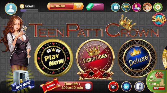Teen Patti Crown poster