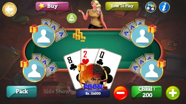 Teen Patti Crown screenshot 1