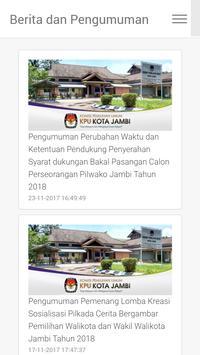 KPU KOTA JAMBI poster