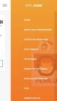 KPU KOTA JAMBI apk screenshot