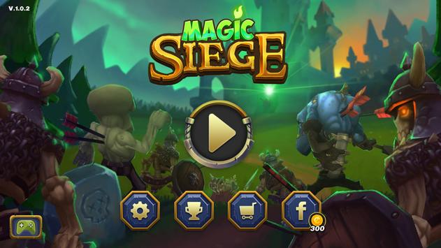 Magic Siege - Defender पोस्टर