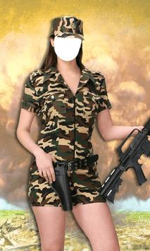 New Woman Army Photo Suit poster