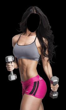 Fitness Girl Photo Suit apk screenshot