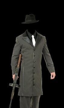 Gangster Fashion Photo Suit apk screenshot
