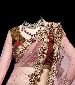 Indian Marriage Saree Photo poster