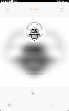 AK RADIO poster