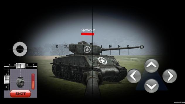 Tank war multiplayer simulator poster