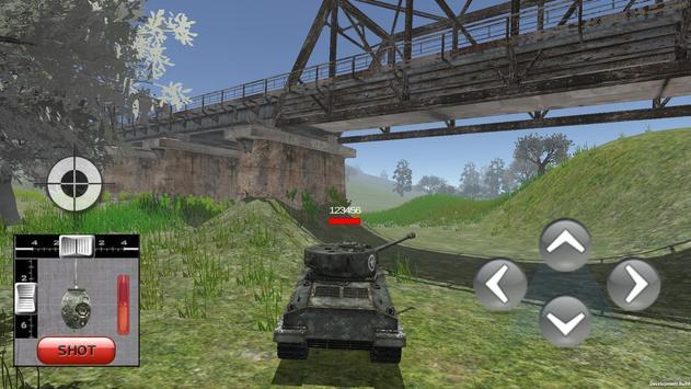 Tank war multiplayer simulator screenshot 1